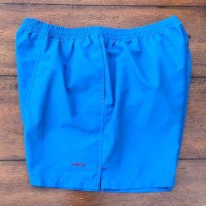 Other - Orvis Men's Blue trunk shorts size L/G